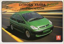 Notice d'emploi - Citroen Xsara Picasso - Réf : N68-IT - Ed italienne - 11/2000