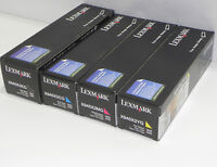 NEW Genuine Lexmark X945X2KG X945X2CG X945X2MG X945X2YG Toner Cartridge Original