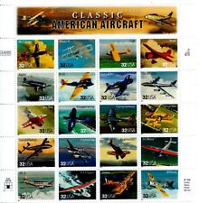 UNITED STATES MINT SHEET CLASSIC AMERICAN AIRCRAFT