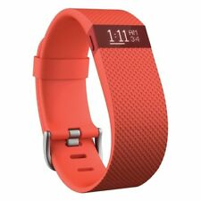 Fitbit Charge Hr Wireless Activity Wristband Tangerine, Large (6.2 - 7.6 in) Nib