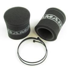 Weber/Dellorto 36/40/42/44/45 y 48 mm DCOE/DHLA/IDF/DRLA Calcetines de Filtro de aire 85 mm