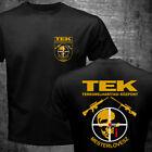 Rare Sniper Hungary TEK Police Special Force SWAT Counter Terrorist Unit T-shirt