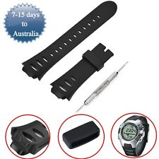 Silicone Replacement Band Wrist Strap For SUUNTO OBSERVER SR X6HRM SS0S4723000
