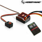 Hobbywing QUICRUN WP1080 Waterproof Rock Crawler Brushed ESC 2-3S w/ LED Box NEW