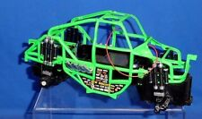 """New Bright Grave Digger Designed Frame & Carriage 1:15 Scale 11.5"""" Length AA Run"""