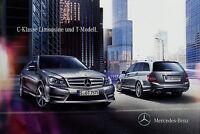 Mercedes C-Klasse Limousine T-Modell 2011 4.2.11 brochure prospectus broschyr
