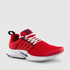New Nike Men's Air Presto Essential Shoes (848187-606)  Red//White-Navy