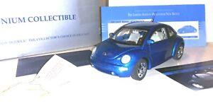 Franklin Mint 2000 Volkswagen Millennium New Beetle - 1:24 die cast