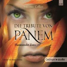 SUZANNE COLLINS - DIE TRIBUTE VON PANEM 3 -FLAMMENDER ZORN 6 CD HÖRBUCH NEU