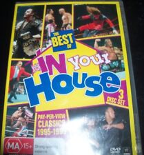 WWE The Best Of In Your House DVD Classics 1995-1999 (Aust Region 4) DVD NEW