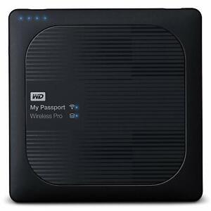 WD 1 TB My Passport Wireless Pro 1TB Passport Wireless Pro WDBVPL0010BBK-EESN