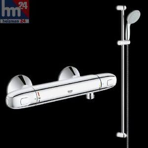 Grohe Duschsystem 34256004 inkl. Grohtherm 1000 und Brausegarnitur 900 mm