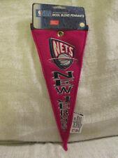 2004 Winning Streak New Jersey Nets NBA Wool Blend Basketball Pennant