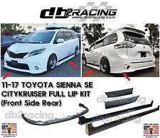 11-17 Toyota Sienna SE Lip Kit JDM CITYKRUISER Full Lip Kit [SE Model Only]
