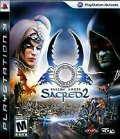 Sacred 2: Fallen Angel (Sony PlayStation 3, 2009) COMPLETE ASCARN FAST SHIP PS3