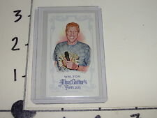 Bill Walton 2013 ALLEN & GINTER No # Red Bat Mini SP/25 Trail Blazers - Celtics