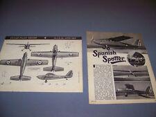 VINTAGE..A.I.S.A. AVD-12C....4-VIEWS/CUTAWAY/SPECS ..RARE! (37A)