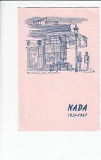 National Automobile Dealers Association Convention 1967 San Francisco Brochure