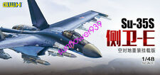 """GreatWall L4823 1/48 Scale Su-35S """"FLAMLER-E"""" MULTIROLE FIGHTER AIR TO SURFACE"""
