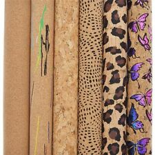 Soft Cork Fabric Garment Handbag Making Sewing Accessories DIY Synthetic Leather