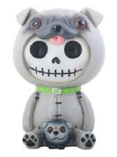 Furrybones Pugsly Skeleton Dressed in a Pug Dog Costume Figurine Statuette New