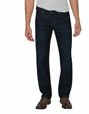 Dickies XD730 Men's Black Flex Regular Fit Straight Leg Denim Jean XD730HBL