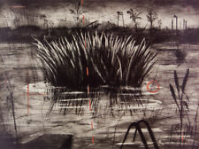 William KENTRIDGE 'Reeds' reproduction print - out of print -