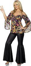 Smiffys Groovy Baby 1960's Hippie Costume Size L UK 16/18 LF076 MM 06