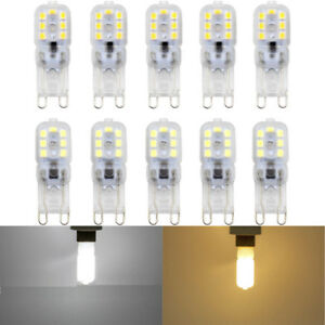 1x Dimmable G9 5W LED Corn Bulb Light Silicone Crystal Halogen Lamp 110V-220V
