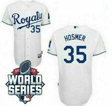 Kansas City Royals #35 Eric Hosmer Jersey Cool Base White Performance Jersey 4XL