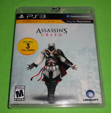 Empty Replacement Case! Assassin's Creed I II III 1, 2, 3 Lot PlayStation 3 PS3