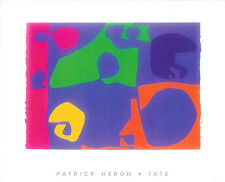 January 1973:14 (serigraph) by Patrick Heron Art Print Abstract Tate 40x50