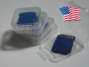 5x Lot 4GB SD Memory Card Class 10 11 12 Wholesale OEM No Label Unbranded