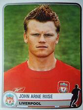 Panini 188 John Arne Riise Liverpool FC Champions of Europe 1955-2005
