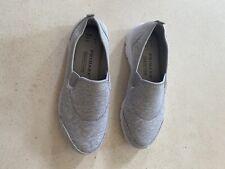 ladies grey trainers size 4