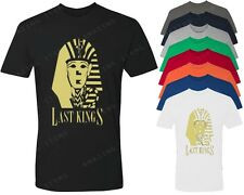 Last Kings Gold Logo T-shirt TYGA Last King shirt YMCMB dope tees