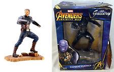 Gallery Avengers Infinity War CAPTAIN AMERICA Figure PVC Diorama, Box Damage