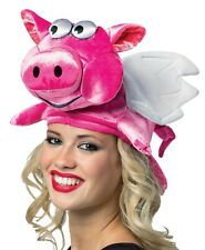 FLYING PIG HAT COSTUME ACCESSORY