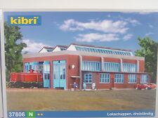 Lokschuppen modern 3ständig - Kibri Spur N Bausatz 1:160 - 37806 #E
