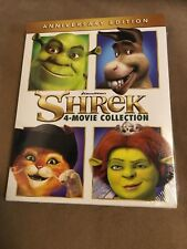 Shrek: 1-4 Collection (Blu-ray Disc, 2016, 4-Disc Set) Brand New