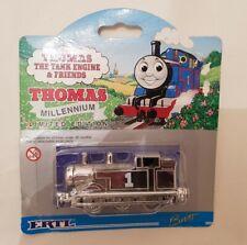 Thomas & Friends ERTL MILLENNIUM LTD EDITION METALLIC SILVER THOMAS TRAIN NEW