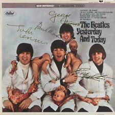 BEATLES Rare FANTASY Signed Butcher Artwork Cover LP Vinyl Album Lennon McCartne