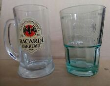 1 Bacardi Oakheart Tankard +1 Bacardi Mojito Glass New