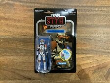 Star Wars TVC The Vintage Collection VC19 FOIL Clone Commander Cody with case