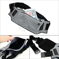 Waterproof Running Belt Bum Waist Pouch Fanny Pack Hiking Zip Bags Hip Purse