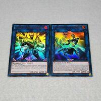3x Yugioh Fusion Destiny 3x Xtra HERO Cross Crusader 1st Ed Card Playset NM