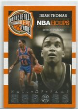 2013-14 Hoops Basketball - Isiah Thomas - Pistons - Hall of Fame Heroes Insert 1