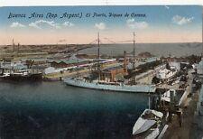 B79311 buenos aires el puerto diques ship carena  argentina front/back image