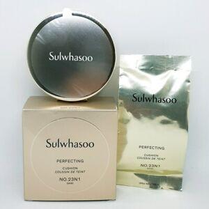 Sulwhasoo Perfecting Cushion No.23N1 Sand 15g + Refill 15g Foundation K-Beauty