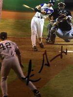 Luis Gonzalez Signed 4X6 photo 2001 Ws Arizona Diamondbacks Auto